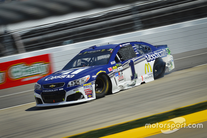 Crash: Jamie McMurray, Chip Ganassi Racing, Chevrolet