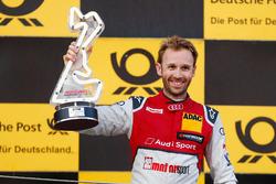 Podium : le vainqueur René Rast, Audi Sport Team Rosberg, Audi RS 5 DTM