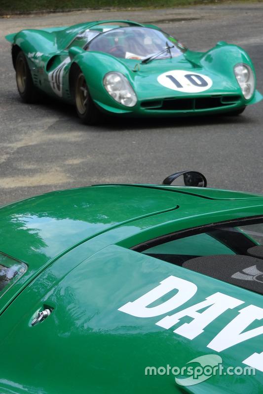 David Piper Racing Team at Montlhéry