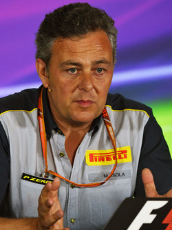 Mario Isola, Pirelli Sporting Director in the Press Conference