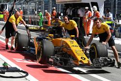 Auto von Sergey Sirotkin, Renault Sport F1 Team RS17