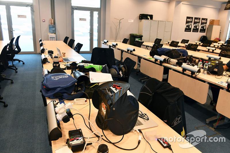 Media Centre / photographers room
