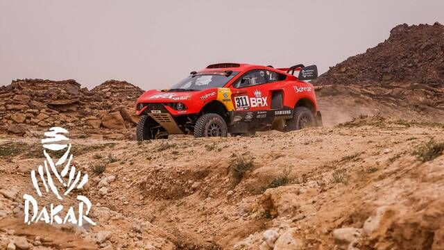 Dakar-Highlights 2021: Etappe 5 - Autos