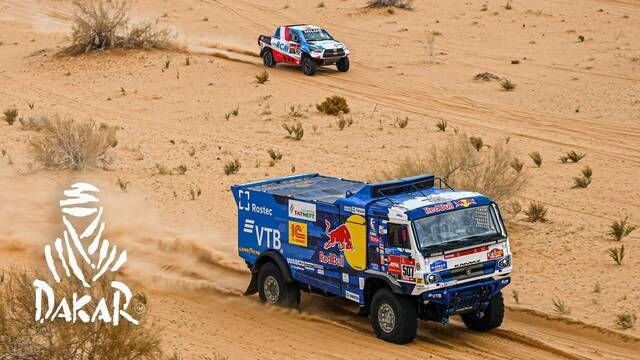 Dakar-Highlights 2021: Etappe 7 - Trucks