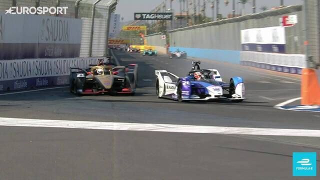 Marrakesh E-Prix: Max Guenther pulls a fast one on Jean-Eric Vergne