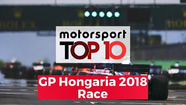 Top 10 Highlights Race | GP Hongaria 2018