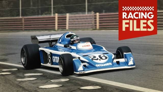 Annuals Motorsport Prancis: Ligier and Jacques Laffite