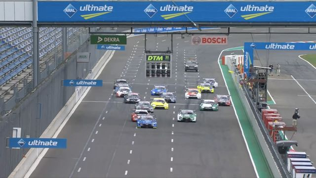 DTM Lausitzring II Race 2 highlights