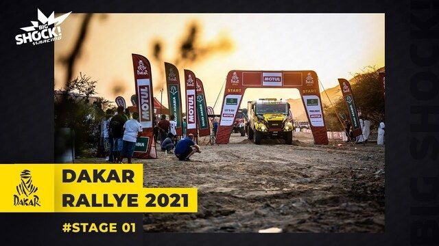 Dakar 2021: Etap 1 - Big Shock Racing