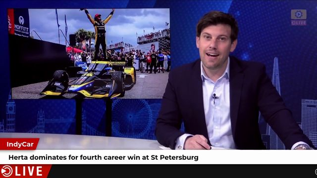 Herta dominates in St Petersburg
