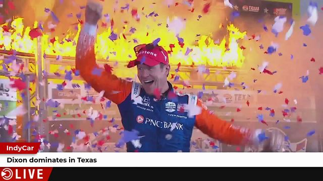 IndyCar: Dixon dominates in Texas with Chip Ganassi Racing