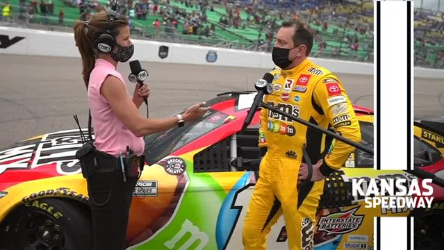 Kyle Busch gets personal in Victory Lane after first win of 2021