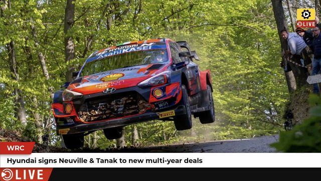 WRC: Multi-year deals for Neuville & Tanak