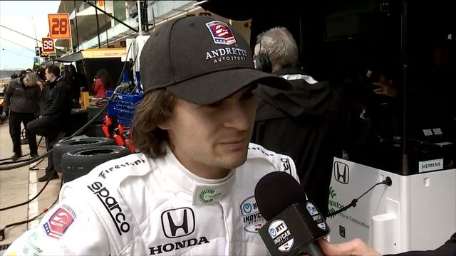 IndyCar: Interview with Colton Herta at COTA