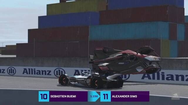 Formula E Race at Home Challenge - runda 2: skrót