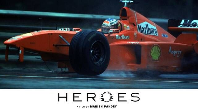 Heroes: Schumacher vs Coulthard collision - 1998 Belgian GP