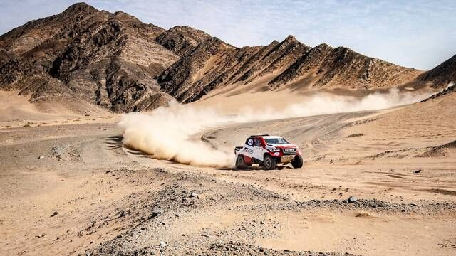 Ula Neom Rally: Fernando Alonso shares his experience after stage 1