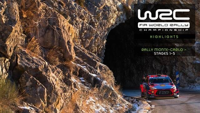 WRC: Rallye Monte-Carlo - Highlights Speciali 1-5