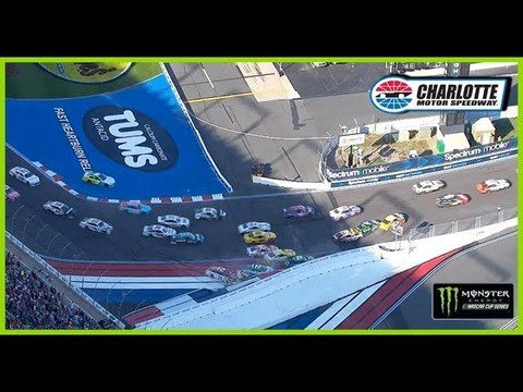 Massive pileup in Turn 1 collects multiple playoff drivers