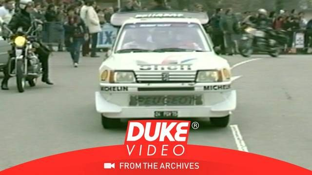 1986 Monte Carlo Rally: Peugeot vs Audi or?