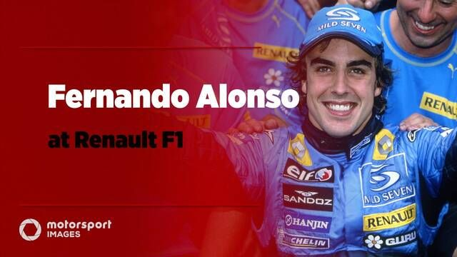 Grand Prix Greats – Fernando Alonso at Renault F1