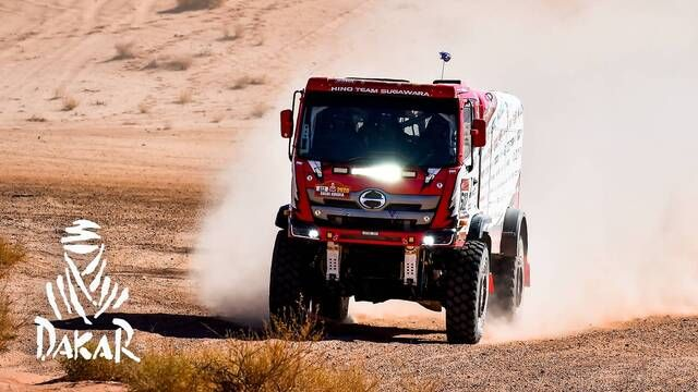 Rallye Dakar 2020: Highlights Trucks Etappe 3