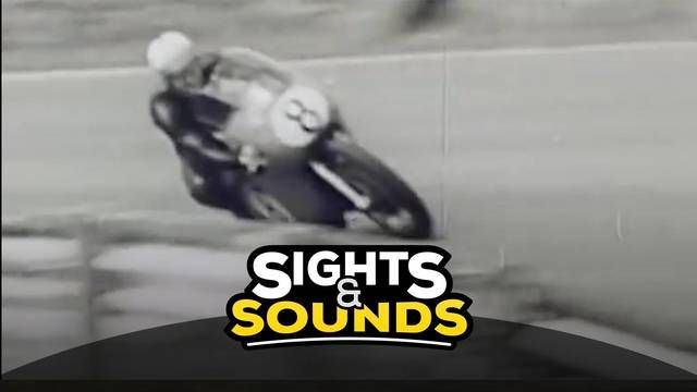 Onboard mit Mike Hailwood 1964 in Spa
