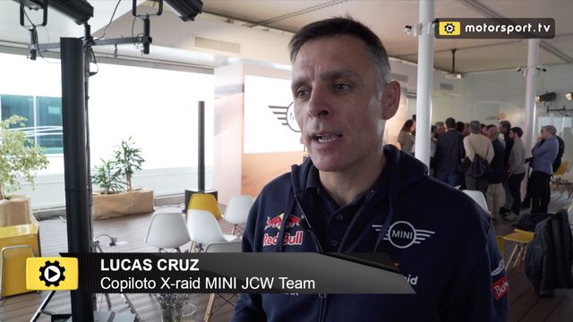 Lucas Cruz, media vida en el Dakar