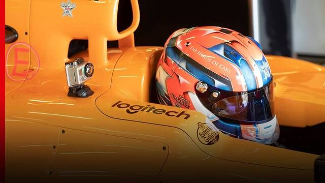 Driving an F1 car for the first time: Tom Gamble's McLaren test