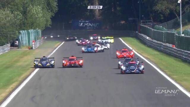 European Le Mans Series: 4 Hours of Spa-Francorchamps start