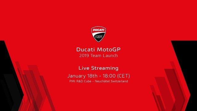 Re-Live: Ducati-Präsentation 2019