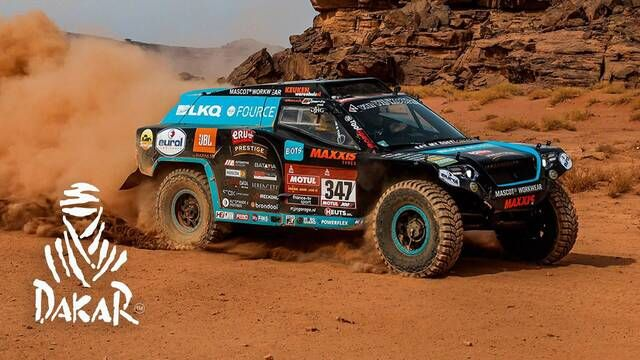 Dakar-Highlights 2021: Etappe 11 - Autos