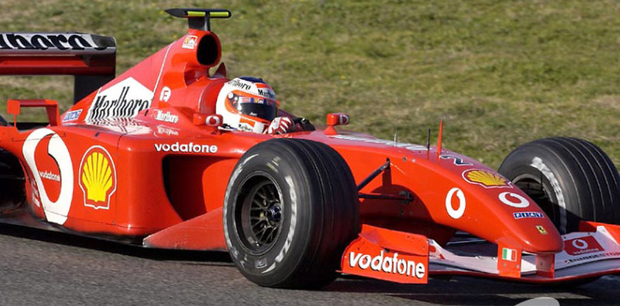 Barrichello roaring to go