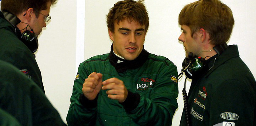 Alonso happy with Jaguar test
