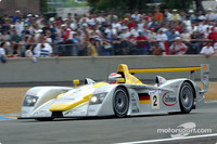 Audi fighting punctures at Le Mans