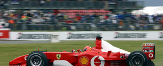 Formula 1 Schumacher, Bridgestone claim wet British GP win