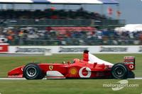 Schumacher, Bridgestone claim wet British GP win