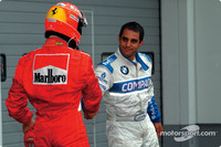 Schumacher not feuding with Montoya