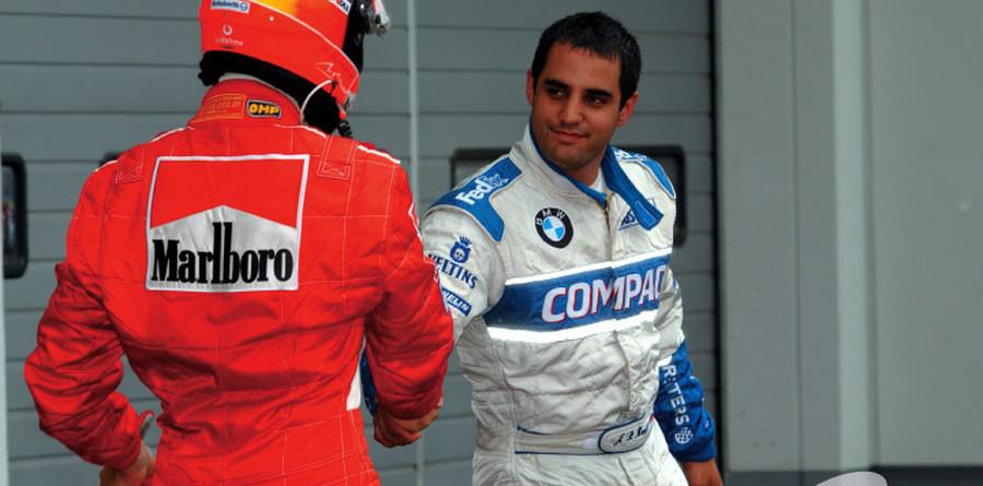 Schumacher not feuding with Montoya