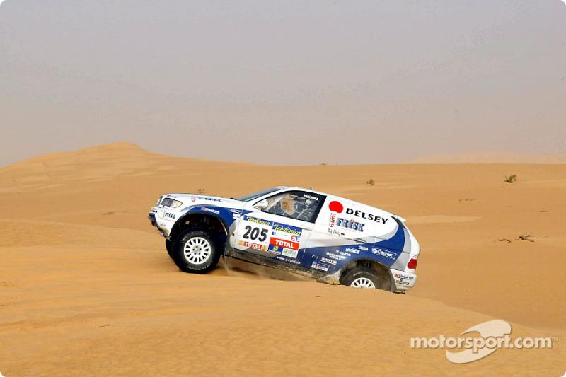 Dakar: BMW stage six report