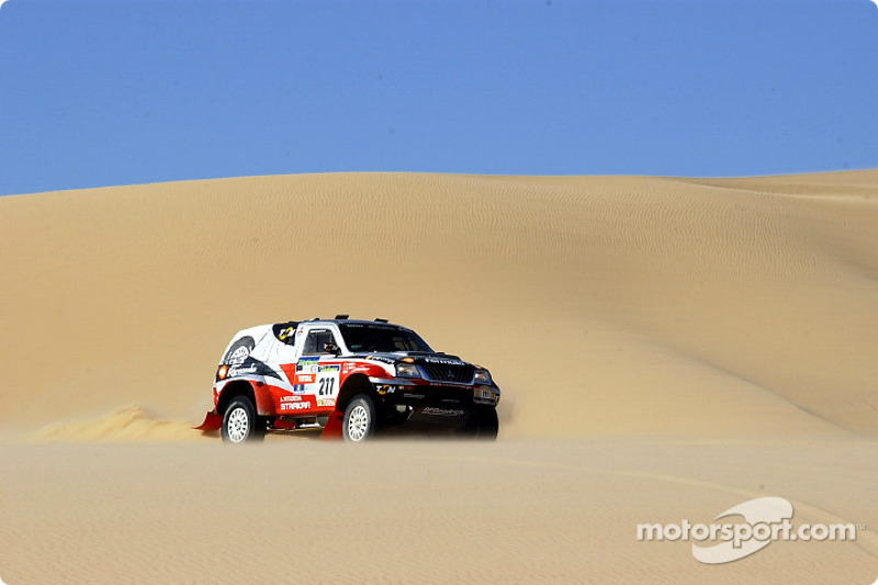 Dakar: Mitsubishi stage ten report