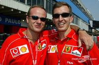 Burti to remain as Ferrari tester