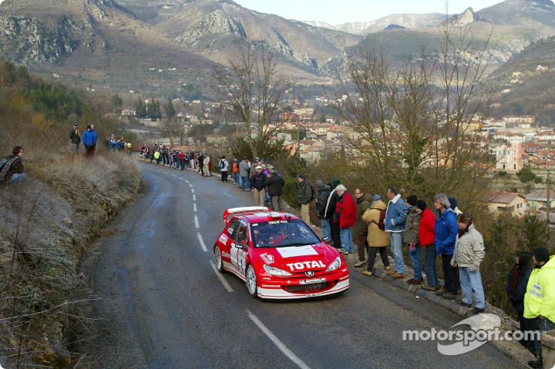 Monte Carlo: Peugeot leg one summary