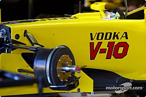 Formula 1 Vodka-V10 combining Jordan energy