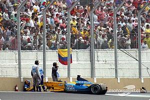 Formula 1 Alonso speaks about Brazil crash