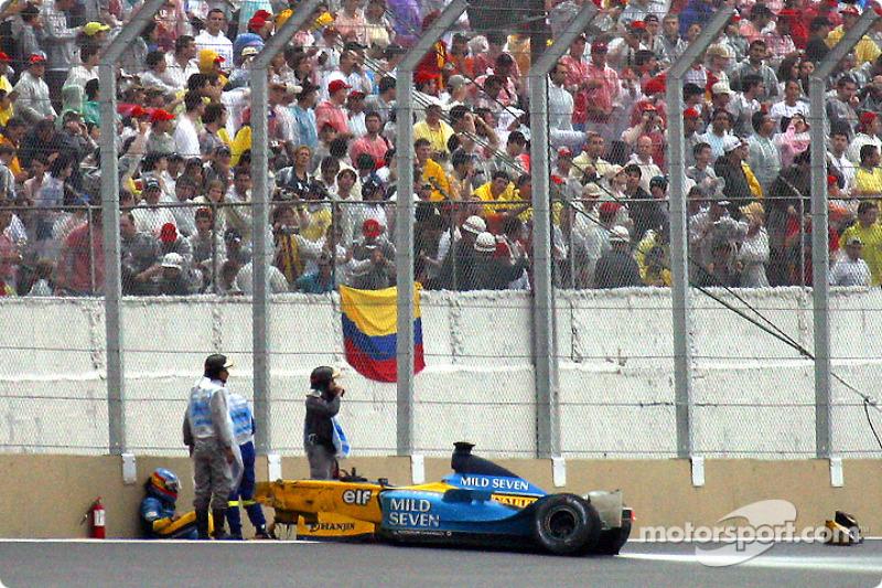 Alonso speaks about Brazil crash
