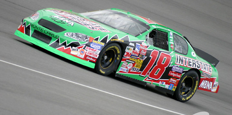 Bobby Labonte steals Michigan pole from teammate