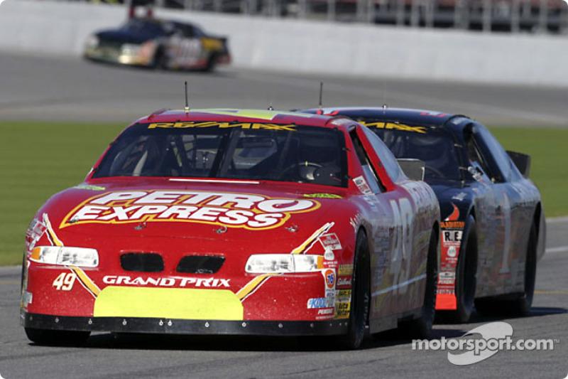 Daytona test day two 2003-12-20