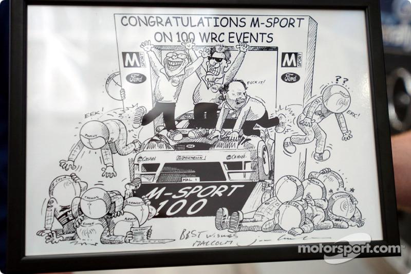 Rally Mexico: M-Sport celebrates 100th rally