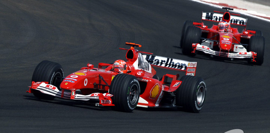 Schumacher takes first Bahrain GP victory